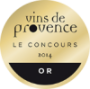 Médaille vins de provence