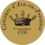 Médaille concours d'Aix-en-Provence